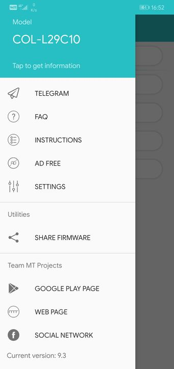 Firmware Finder for HUAWEI and HONOR ⋆ TEAM MT Developers
