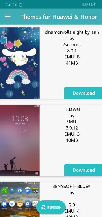 Themes for Huawei & Honor ⋆ TEAM MT Developers